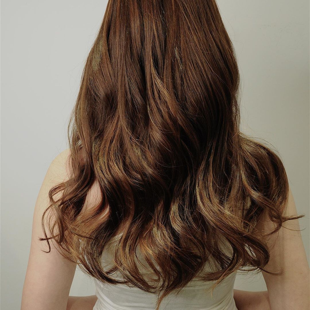 Natural Long Hair Perm by Maggie from Jeric Salon