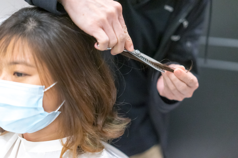 Hair Wash and Styling at The Urban Aesthetics