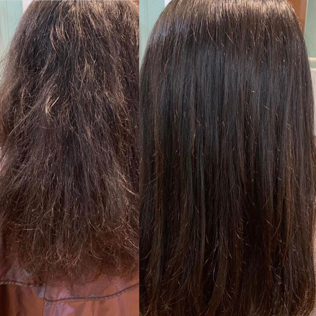 Before and After Rebonding Treatment at Art Noise