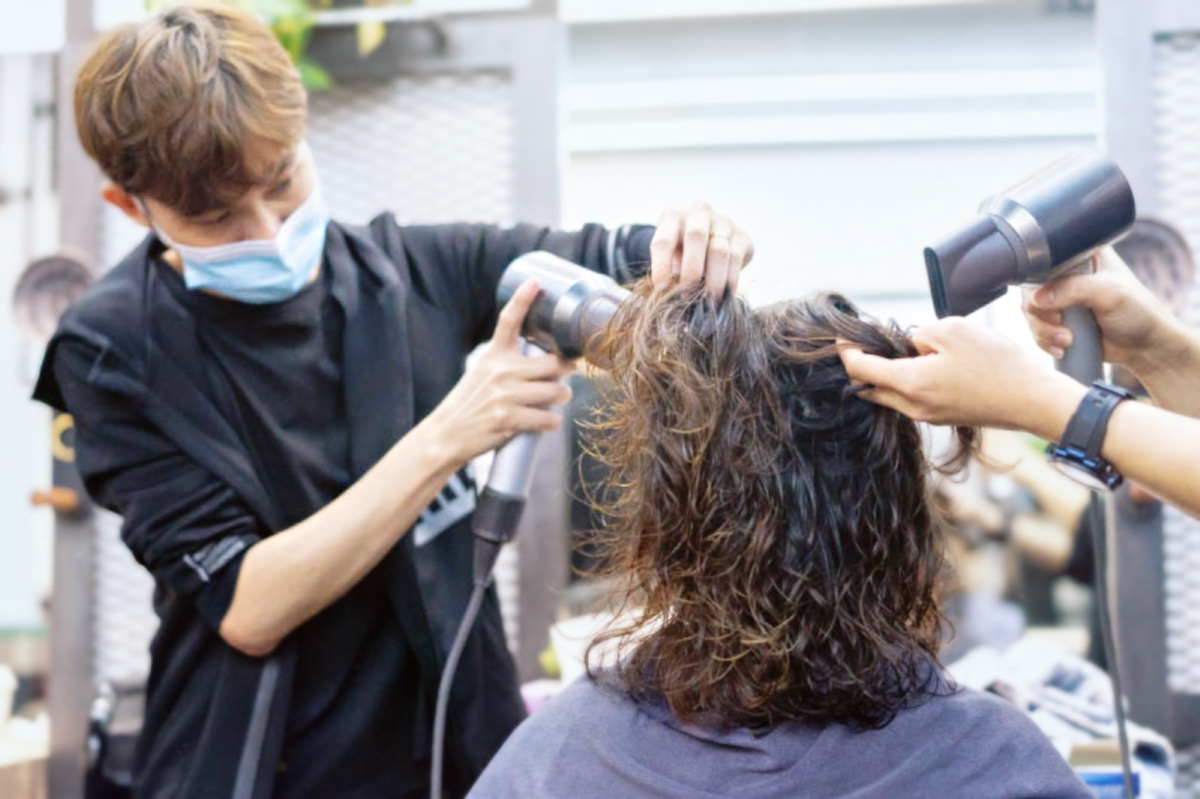 Blow Dry and Styling at Act Point Salon