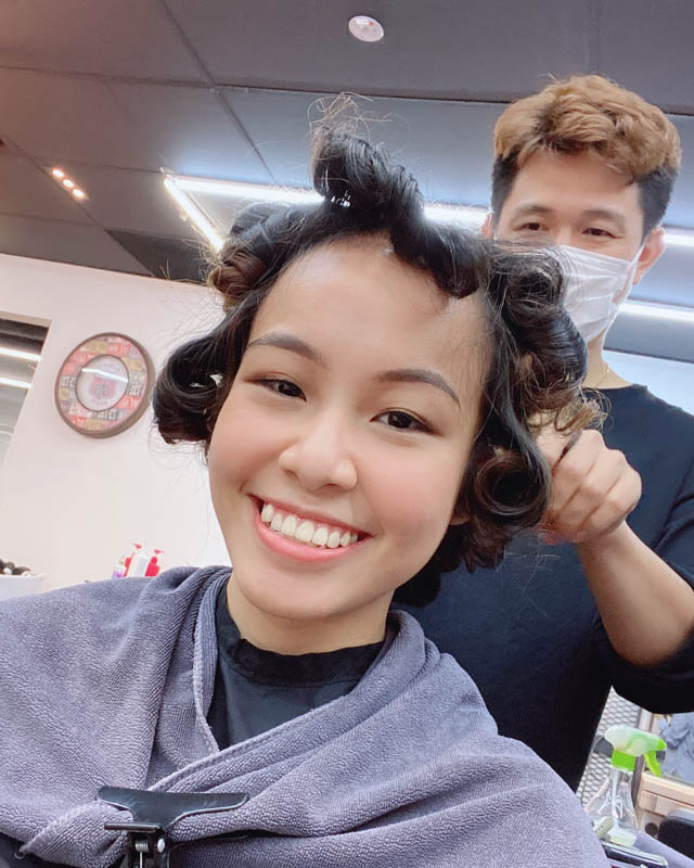 Getting Low Heat and Low Damage Perm at Act Point Salon