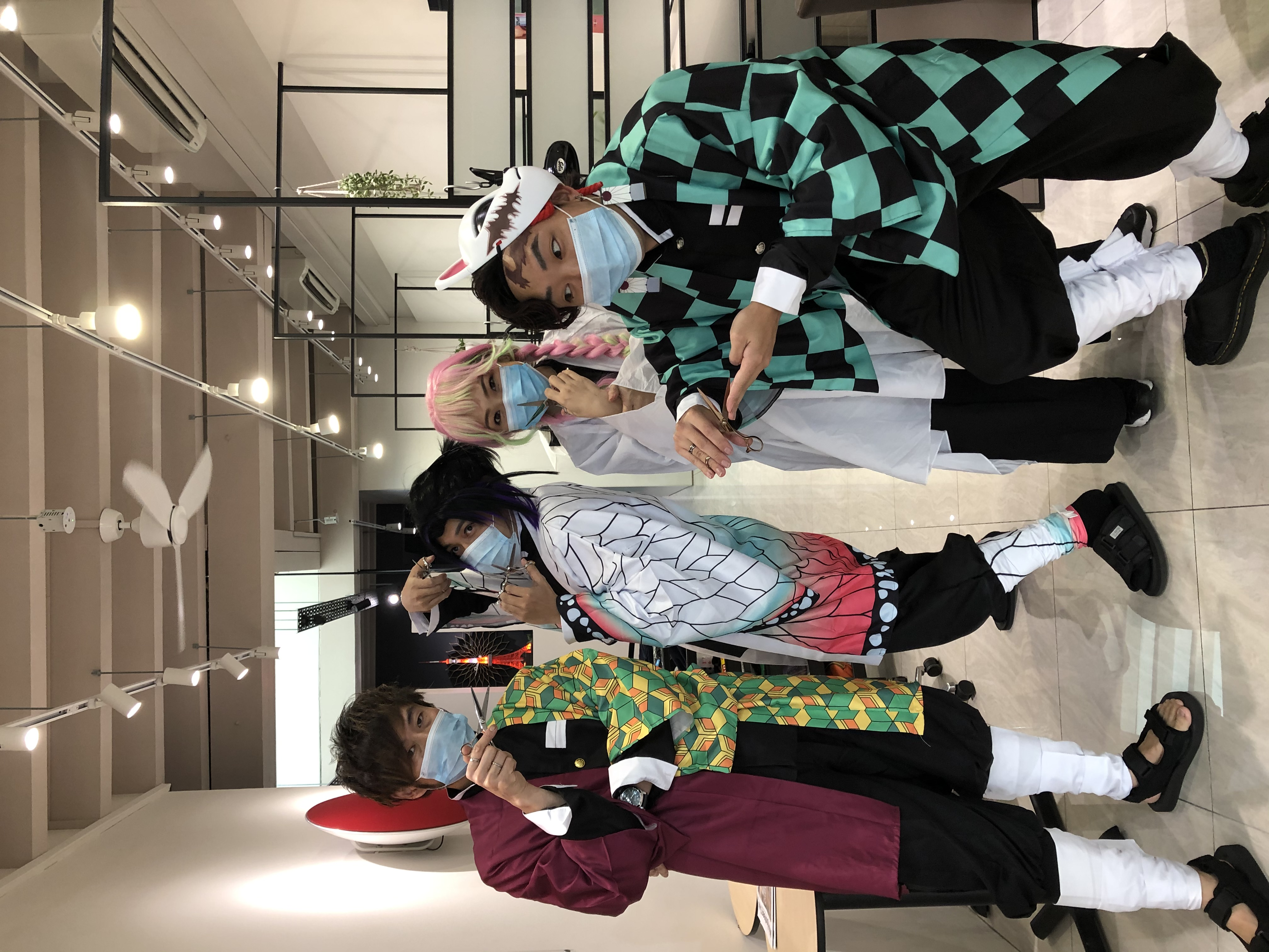 Stylist Cosplay During Halloween at Finder by COVO