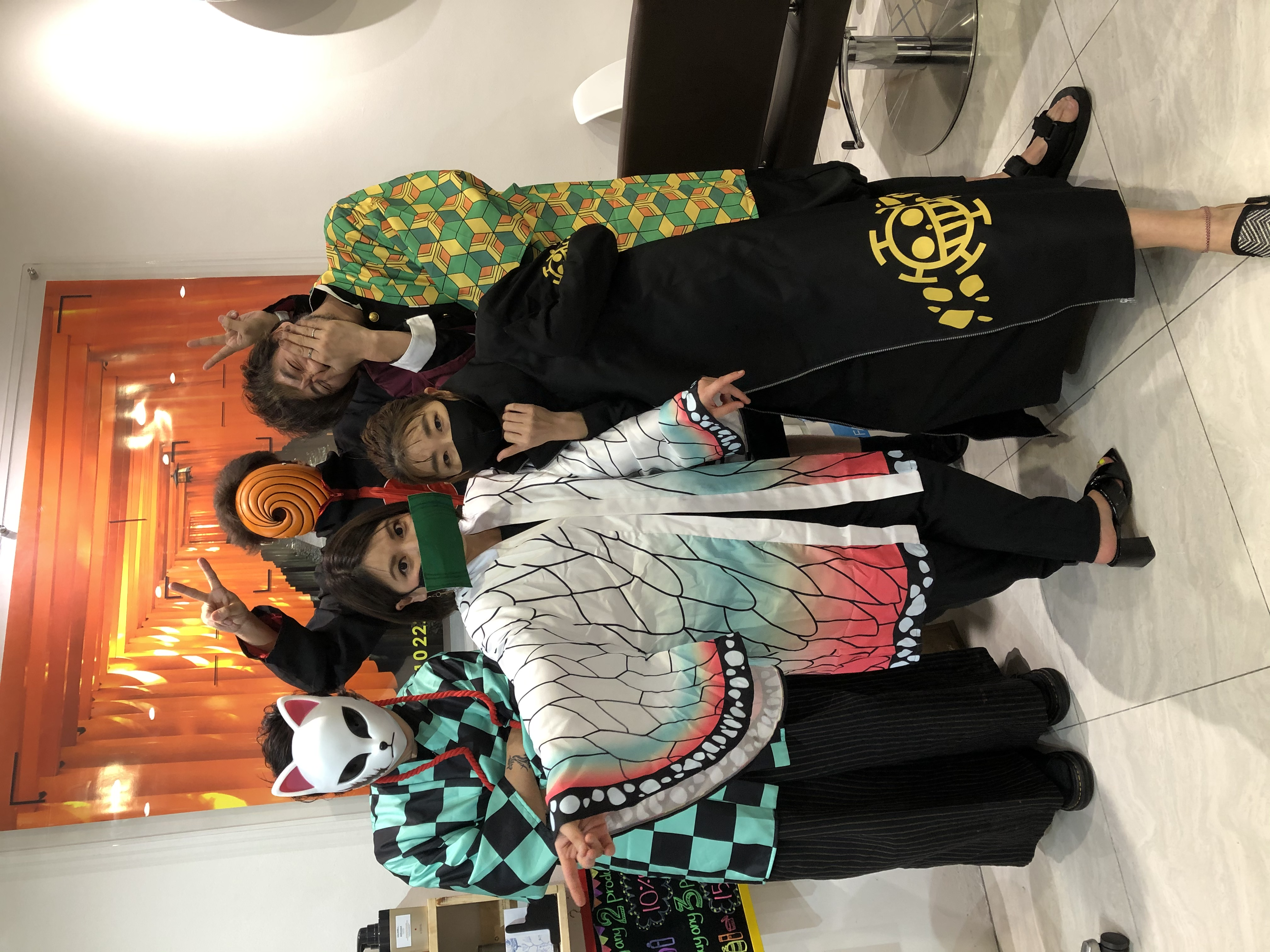 Stylists During Halloween at Finder by COVO