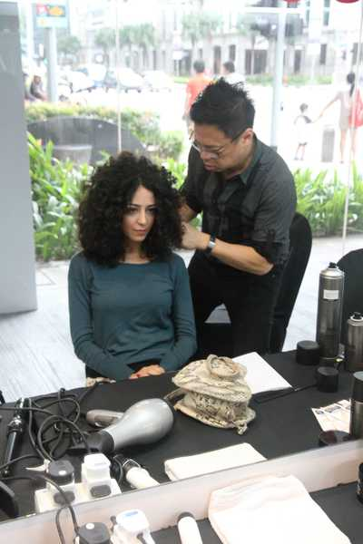 Curly Haircut and Styling by Gary from Kudos by Headlines Hairdressing