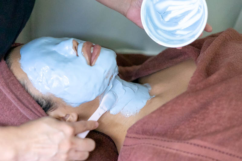 Thermal Peel Off Mask at The Bund Beauty