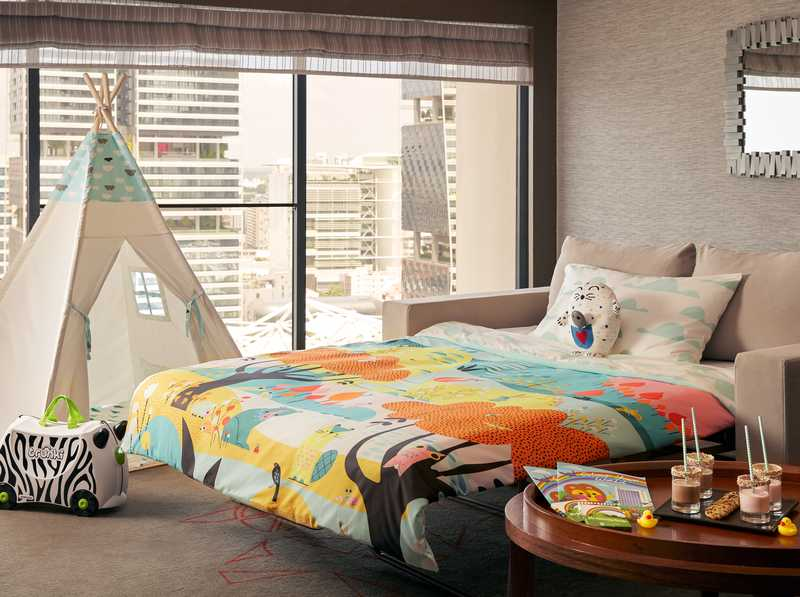 Pan Pacific Singapore Room for Families with Kids