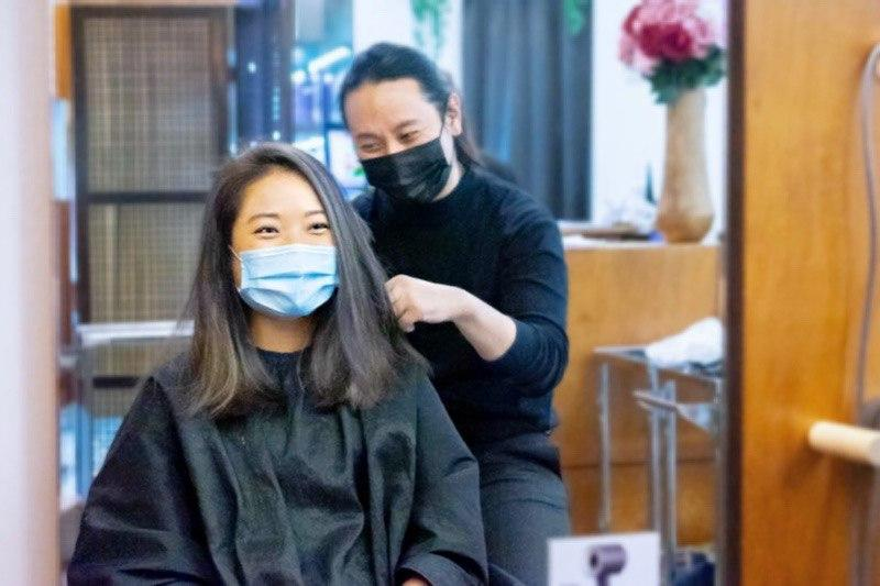 Blow Dry and Styling at Jeric Salon