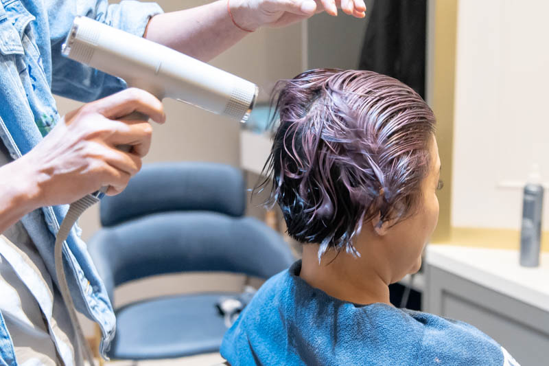 Blow Dry and Hair Styling at The Urban Aesthetics