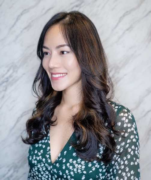 Emily in Paris Makeover with Loose Curl Perm and Brown Balayage at The Urban Aesthetics