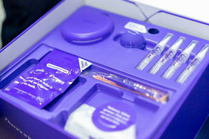 Weekly Aligners Kit Inside the Smile Box at SmileDirectClub