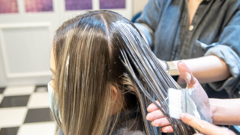 Hair Toning After Dyeing at The Beauty Emporium