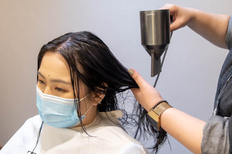 Blow Dry at The Beauty Emporium