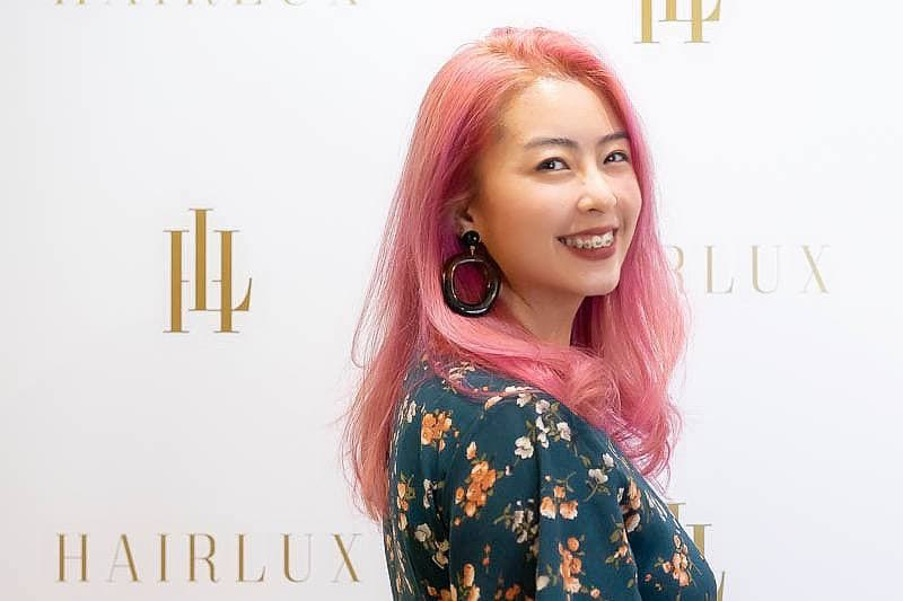 How I Look After Getting a Trendy Pink Hair at Hairlux