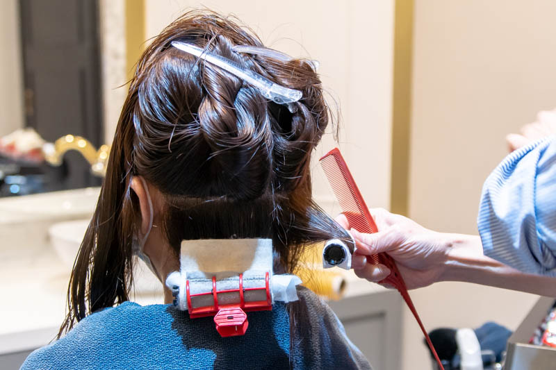 Hair Curling at The Beauty Emporium by The Urban Aesthetics