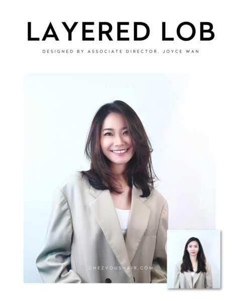 Chic Shoulder Length Layered Bob by Chez Vous