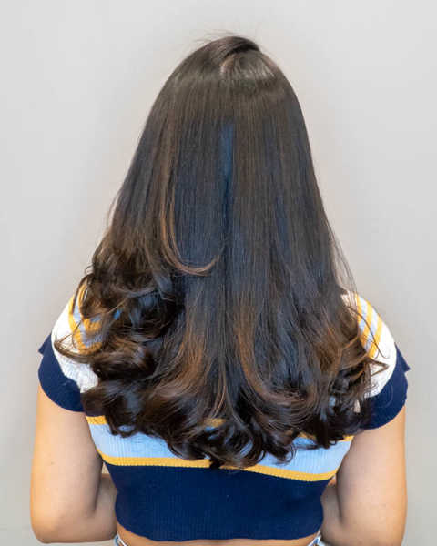 Smooth and Manageable Hair After Argan Oil Treatment Perm at Kudos by Headlines Hairdressing