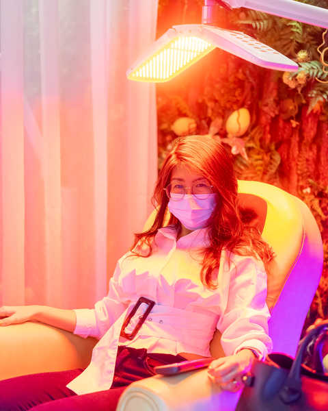 Red Light Laser for Hair Growth and Rejuvenation at Chez Vous Hideaway