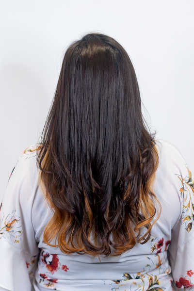 Before and After Advanced Sugar Lamination at Chez Vous Hair Salon
