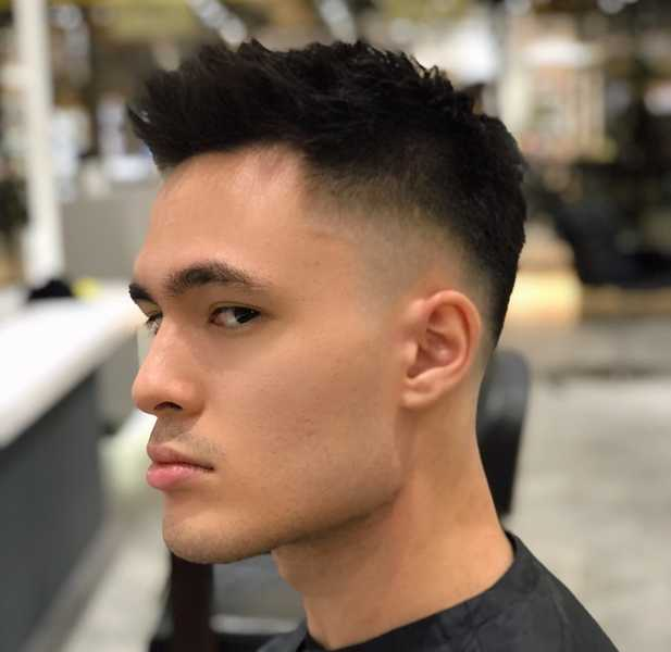 Men Haircut by Jess From Yann Beyrie