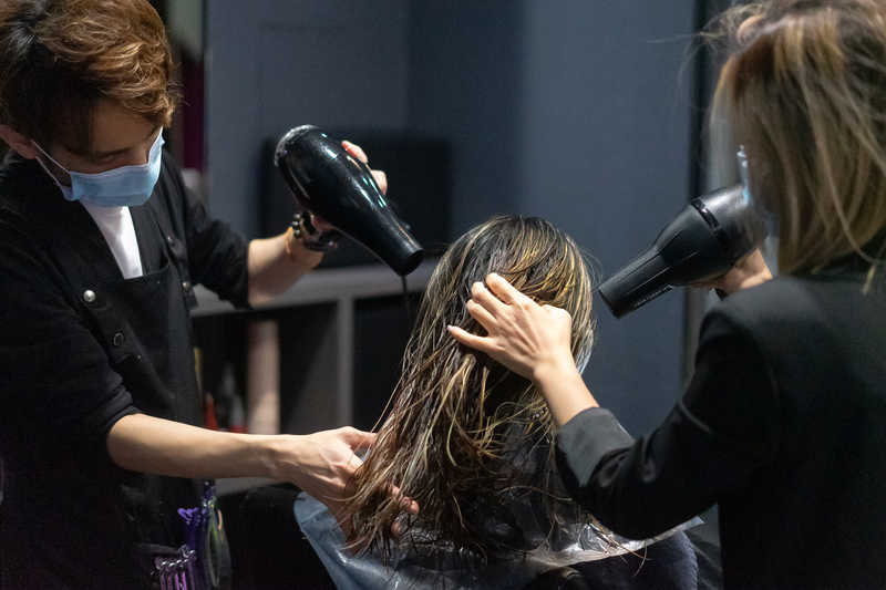 Blow Dry and Styling at Chez Vous