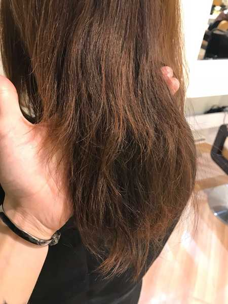 Dry and Damaged Hair Before Treatment